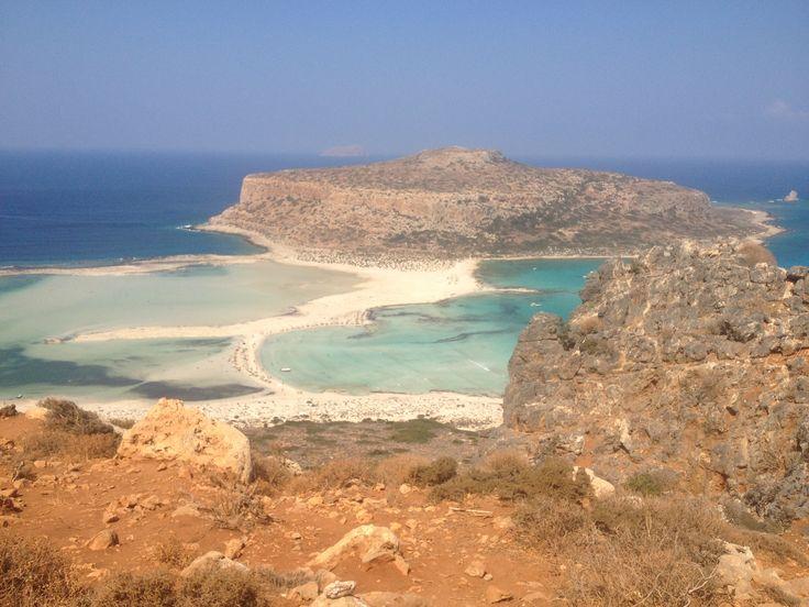 balos lagoon crete, greece
