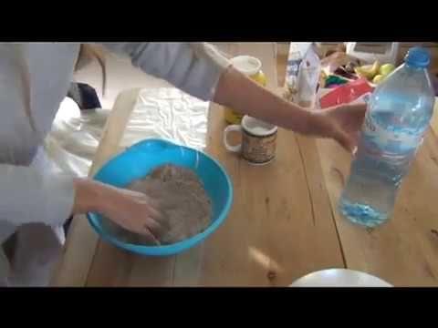 Sawdust dough - Masa de aserrín - Pâte de sciure