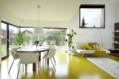 yellow flooring