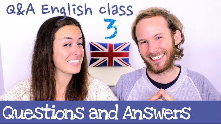Q&A English class 3 - Aprende inglés cotidiano