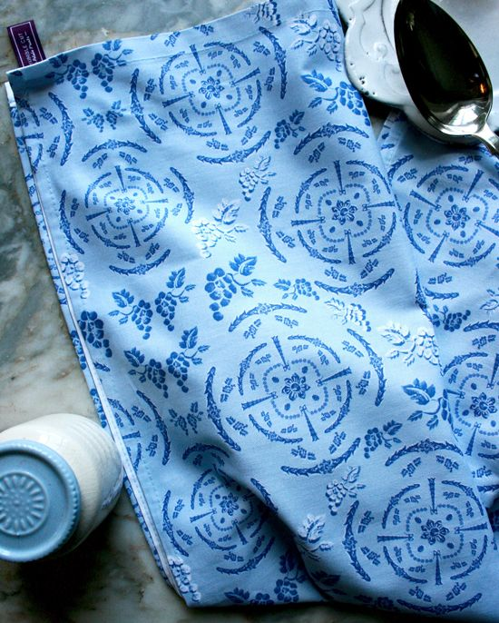 """Adam Style"" design Tea Towel £10. Designed and screen printed in England. Featuring original The Humble Cut potato-printed artwork #screen-printed #teatowels #robertadam"