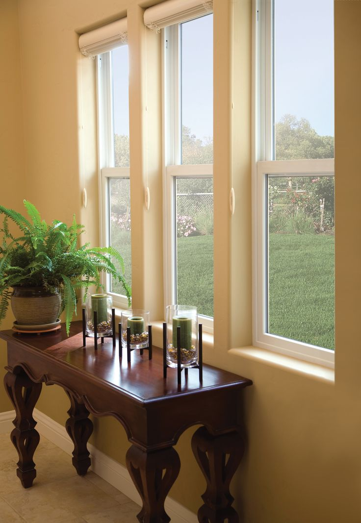 Add classic elegance to any home with Renewal by Andersen double hung  replacement windows.