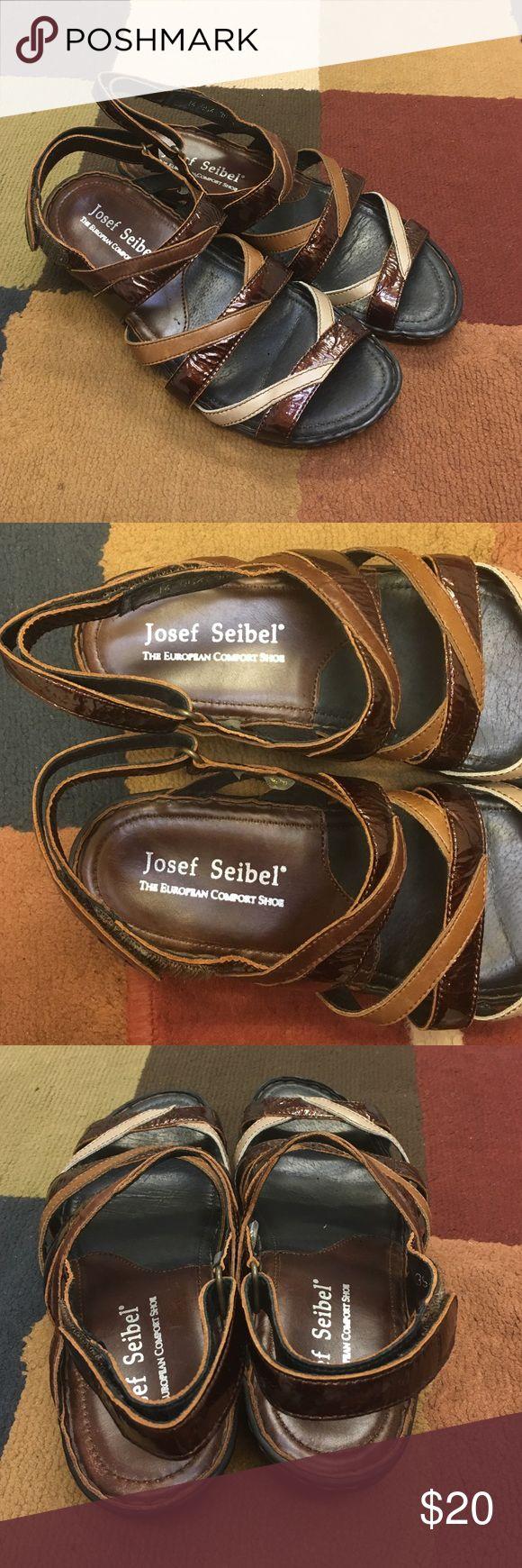 Josef Seibel Women's Sandals Sz 9 🔹Josef seibel sandals size 9  ✔️Perfect condition  🔹No stains, etc.   ❌No trades Shoes Sandals