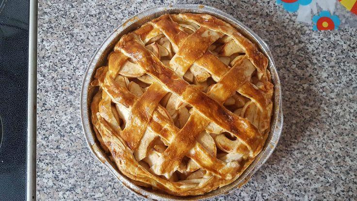 Great Apple pie od Lukás, on piše:  pizza byla super a ten kolač uplna bomba