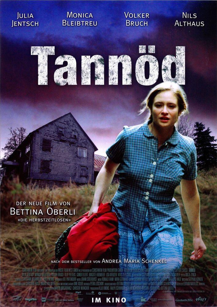 TANNÖD - JULIA JENTSCH - MONICA BLEIBTREU -- VOLKER BRUCH - 2009 - FILMPOSTER A4