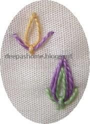 Often while searching around the net for embroidery stitches, I come across stitches which are not commonly used.Many a times I just bookma...