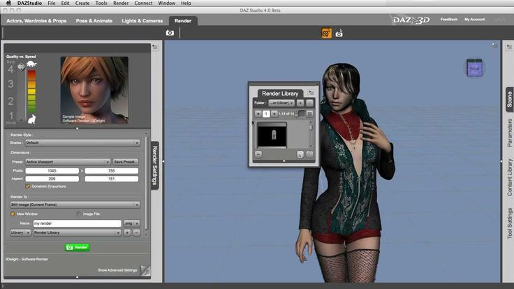 DAZ Studio 4.0 Free 3D Software - Welcome and Overview