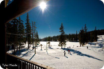 Cross Country Skiing at Chalet Stake Lake