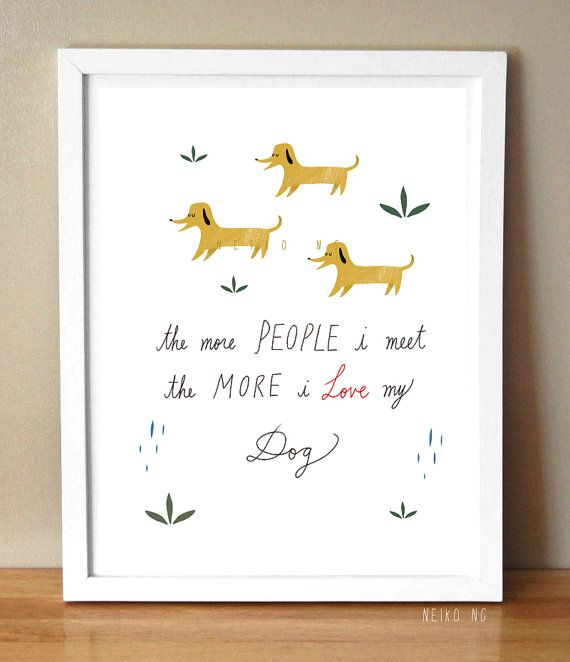 For the dog lover.