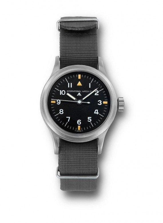 @iwcwatches Pilot's Wristwatch Mark 11 with NATO Strap (1948) - IWC developed this service watch for pilots of the Royal Air Force (RAF).  More @ http://www.watchtime.com/featured/time-flies-9-historic-iwc-pilots-watches/ #iwcwatches #watchtime #pilotswatch