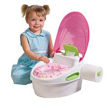 """Summer Infant 3 Stage Reward Potty Trainer & Step Stool - Pink - Summer Infant - Toys """"R"""" Us"""