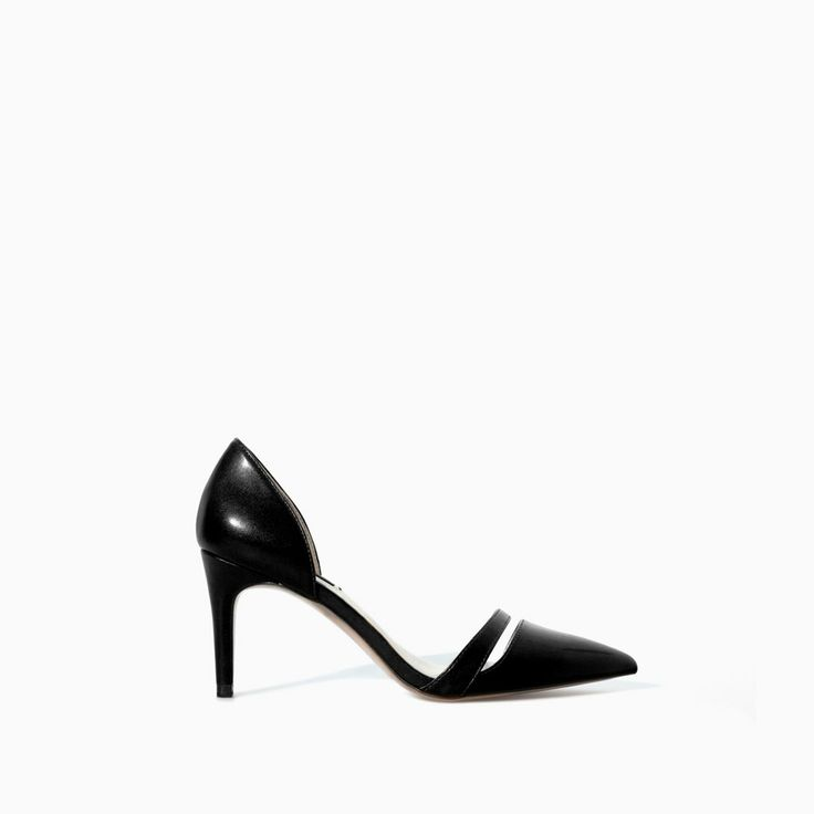 Image 1 of HIGH HEEL POINTY SHOES from Zara 35.99