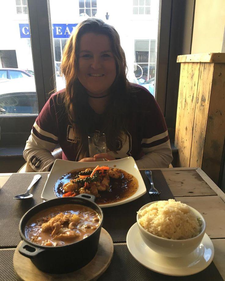 Had the cutest day for a fake birthday. Thai food cures even the worst hangovers. Thanks @conorrodwell92 �� . . . . . Thanks @gigglingsquid, still the best Thai restaurant in Bristol! #thai #thaifood #bestcuisine #thaicuisine #curry #foodporn #birthday #birthdaytreat #heknowsmewell #boyfriendpoints #birthdaysurprise #lastdaytogether #thaifoodeveryday #thailand #bae #foodgoals #relationshipgoals http://w3food.com/ipost/1521792609416439796/?code=BUeflDCFOf0
