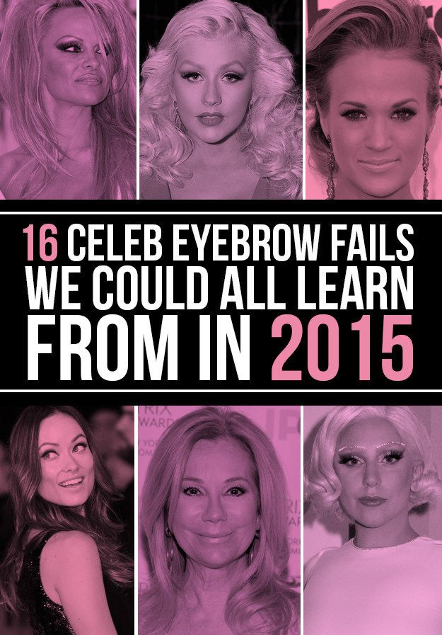 23 Celebs Whose Eyebrows Are On Fleek - BuzzFeed