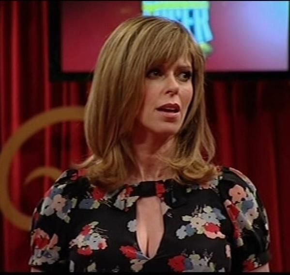 Another Lovely Cleavage Shot Of Kate Garraway's Fine Chest!