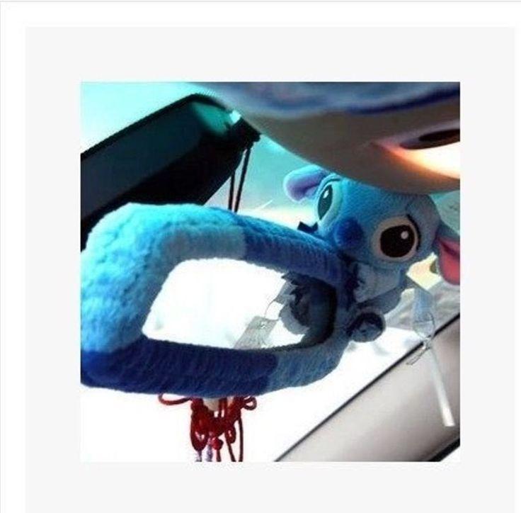 New Stitch Blue Wizard Car Rear View Mirror Cover | eBay