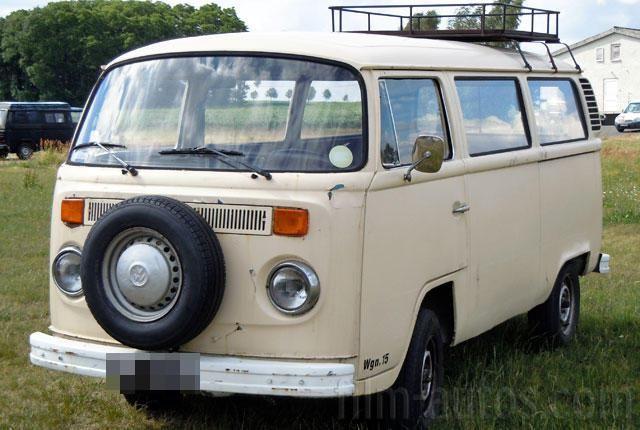 Oldtimer VW Bus T2 Bulli zum Mieten