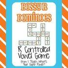 Free! Bossy R dominoes game!