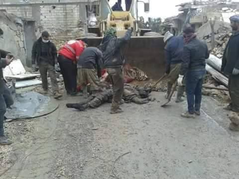 """#SYRIA and IRAQ NEWS: #Kobane Update 57 - Kurds Set Up """"Tent City"""" to House Thousands Wanting to Return to Heavily Mined and Destroyed City. 23.02.15 Meanwhile, more fighting has broken out between the Kurdish YPG and the Islamic State in nearby Hasakah province. *For More #Iraq and Syria News...* http://www.petercliffordonline.com/syria-iraq-news-4 PIC: Still Cleaning the Islamic State From Kobane"""