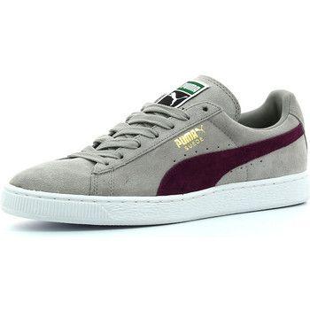 Zapatillas+bajas+Puma+Suede+Classic+gris+59.50+€
