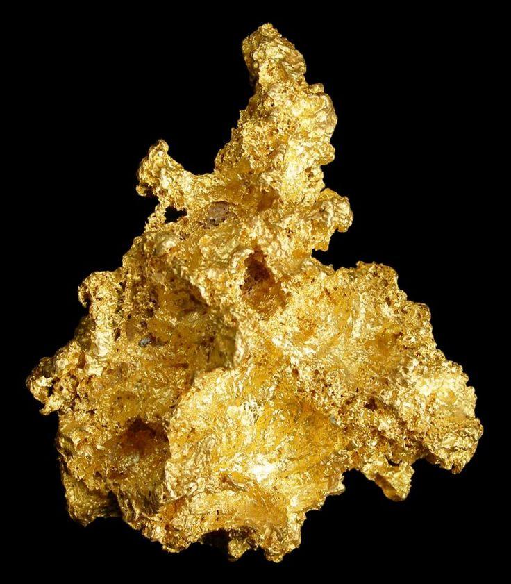 Gold Cluster found near Bendigo, Victoria, Australia.