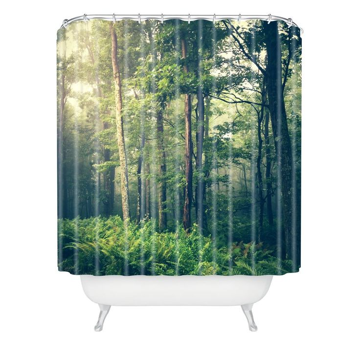 Olivia St Claire Inner Peace Shower Curtain   Deny Designs Home Accessories