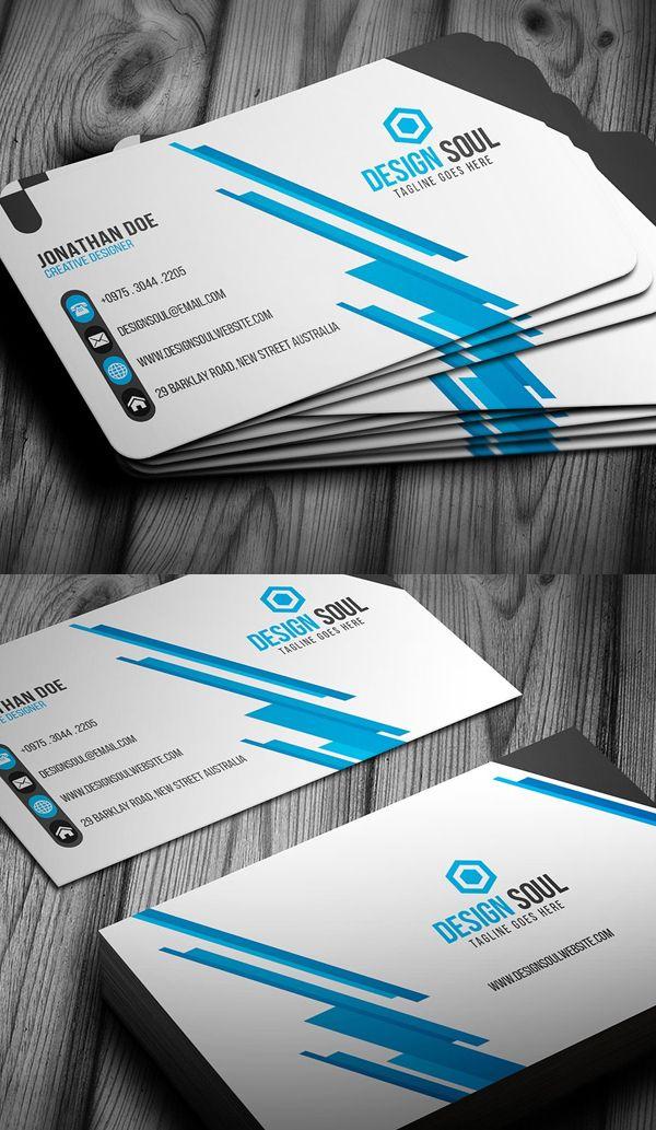 25 New Modern Business Card Templates (Print Ready Design)