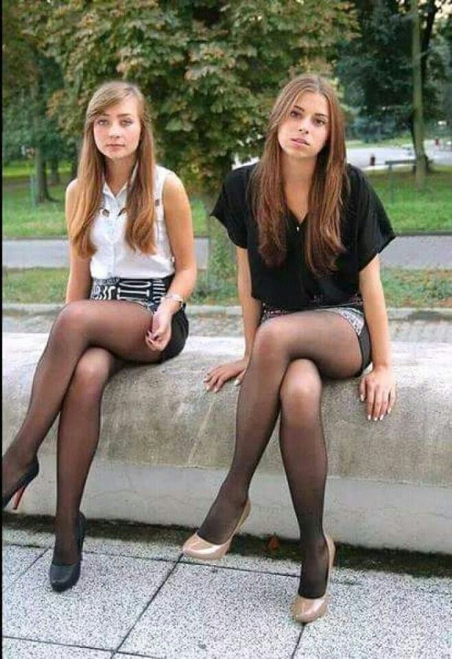 Your Country Teen Pantyhose Candid 37