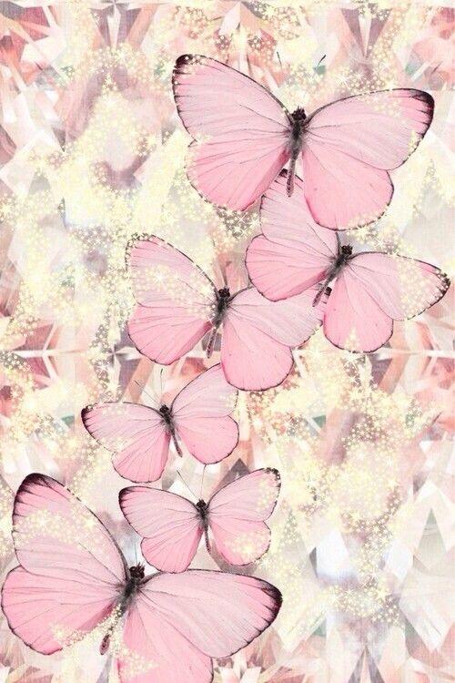 Mariposas rosadas claras | Light pink butterflies