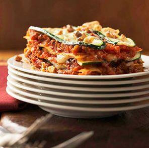 lasagne van courgette groenten lasagen lasagne recept gezonde lasagne