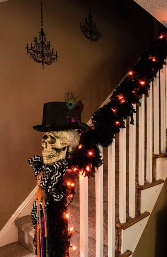 46 wunderschöne DIY Halloween Dekorationen Ideen