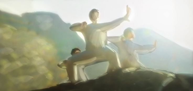 When I practice #QiGong, it's almost like my #Body reconnects with my mind again, in a #Peaceful manner. http://art.jeshield.com/1457en