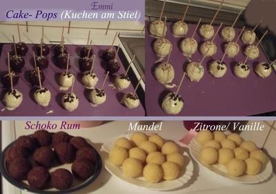 """Rezept: Cake Pops """"Kuchen am Stiel"""" Grundrezept für Backblech"""
