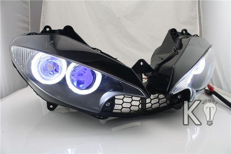 Angel Eye HID light HID Projector Custom Headlight Assembly Yamaha R6 2003-2005