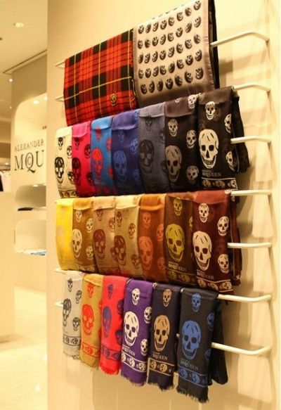 All I want for christmas is... a McQueen scarf!!!!!