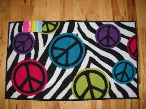 Superb Peace Sign Rugs | ... .99 Girls Bedroom Decor Peace Signs With .