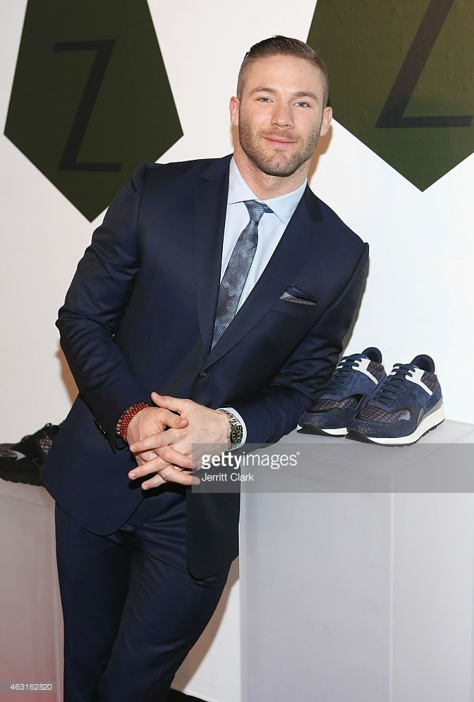 Player Julian Edelman of the New England Patriots attends the Z Zegna Launch on February 10, 2015 in New York City.