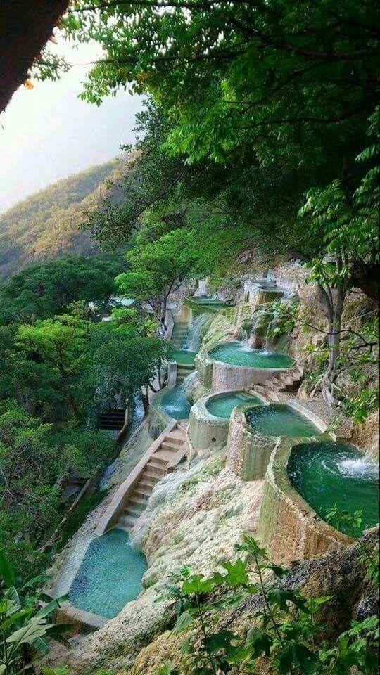 Höhlen von Tolantongo: eine