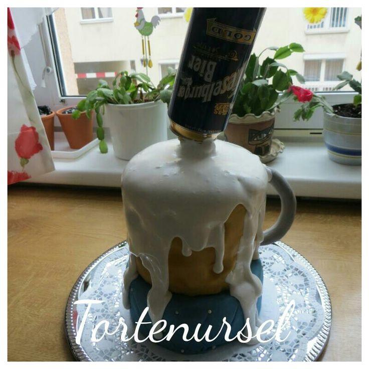 Bierkrug Torte