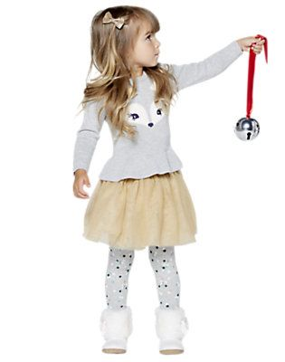Tutu Time, Gymboree little girls outfit