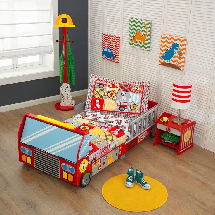 kidkraft juniorsng fire truck toddler - Hausgemachte Etagenbetten Mit Rutsche