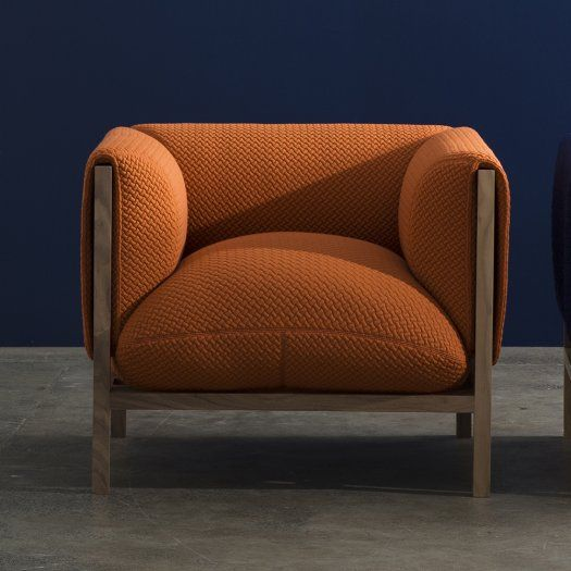 ORANGE DESIGN CHAIR | Loom - Genuine Designer,  | www.bocadolobo.com/ #modernchairs #chairideas