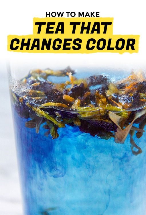 Color-Changing Butterfly Pea Flower Tea Is a Mood Ring in a Glass | Extra Crispy