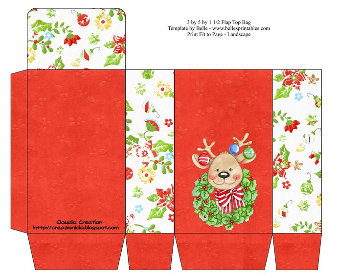 264 best Christmas gift boxes images on Pinterest Boxes - christmas paper template