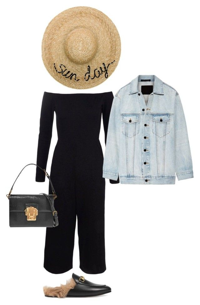 """""""Untitled #624"""" by szudi on Polyvore featuring Boohoo, Eugenia Kim, Gucci, Dolce&Gabbana and Alexander Wang"""