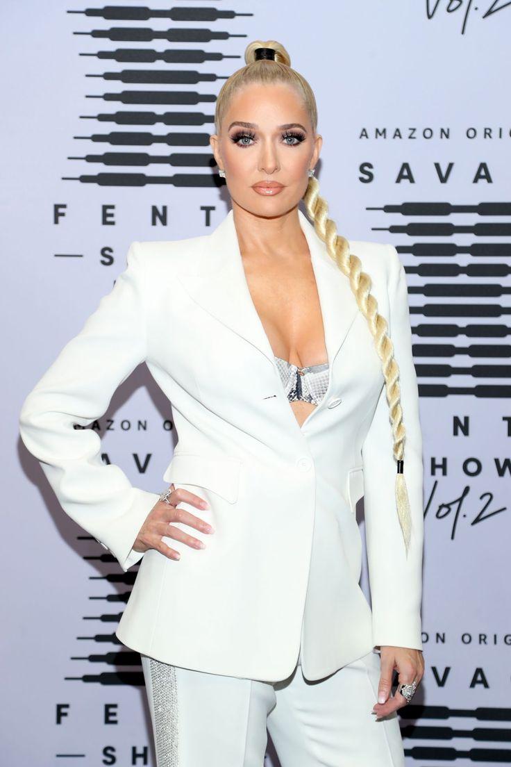 Erika Jayne Savage X Fenty Show Vol 2 In Los Angeles In 2020 Celebrity Pictures Irina Shayk Photos Savage X Fenty