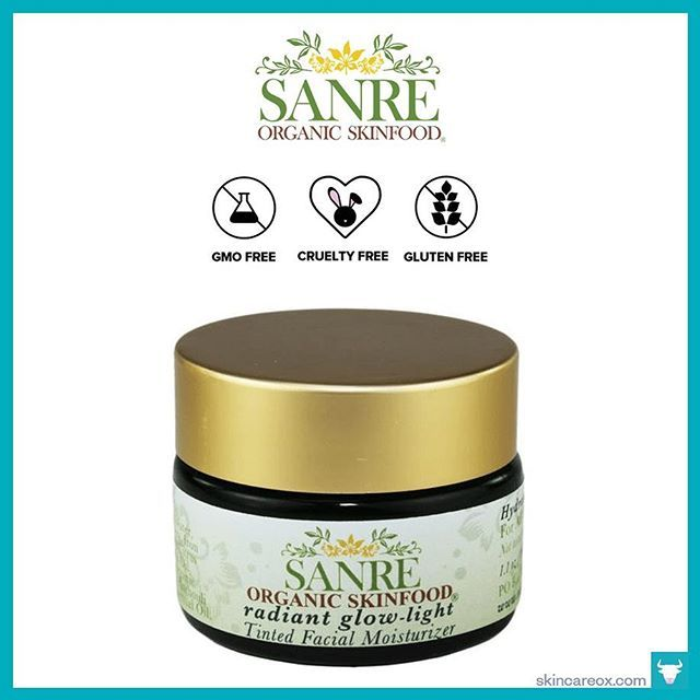 Thanks @skincareox for including our Radiant Glow tinted moisturizer in your Best Organic Face Moisturizers: The complete list for 2018 !!! Check out their website skincareox.com Click on the link in our bio to learn more!  #tintedmoisturizer #radiantglow #healthyglow #naturalglow #deweymakeup #sanre