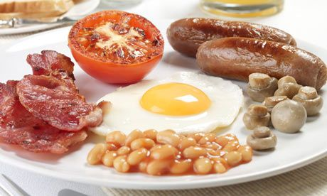 Full English Breakfast - The 39pound fry-up: London's most expensive hotel breakfast