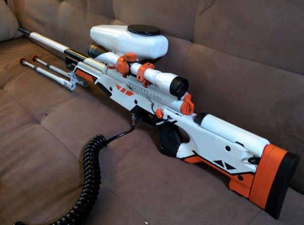 counterstrike asiimov paintball gun