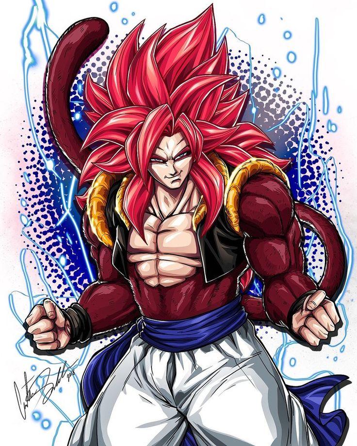Super Saiyan 4 Gogeta by ShadowMaster23.deviantart.com on @DeviantArt